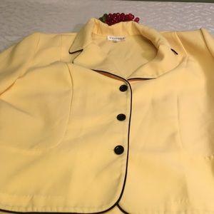 Studio 1 size 18 yellow blazer